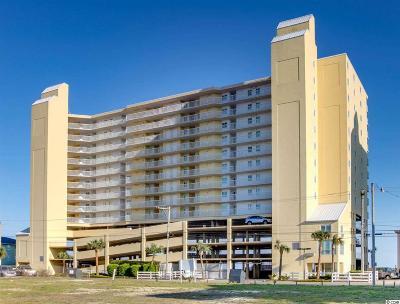 North Myrtle Beach Condo/Townhouse For Sale: 5404 N Ocean Blvd. #10-F