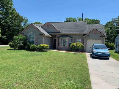 Murrells Inlet Single Family Home For Sale: 174 Woodlake Dr.