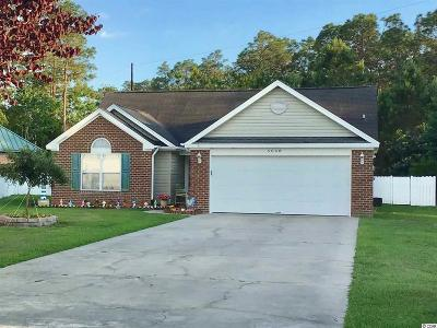 Myrtle Beach Single Family Home For Sale: 5068 Capulet Circle