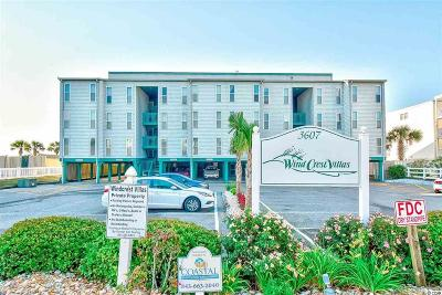 North Myrtle Beach Condo/Townhouse For Sale: 3607 S Ocean Blvd. #202