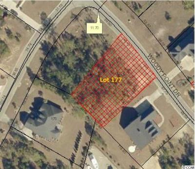 Murrells Inlet Residential Lots & Land For Sale: Lot 177 Woody Point Dr.