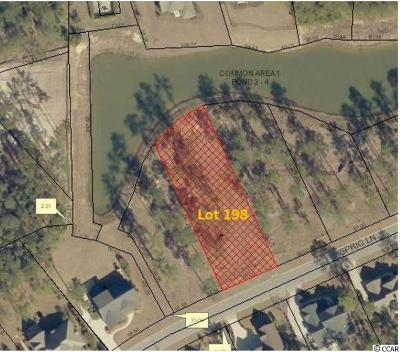 Murrells Inlet Residential Lots & Land For Sale: Lot 198 Sprig Ln.