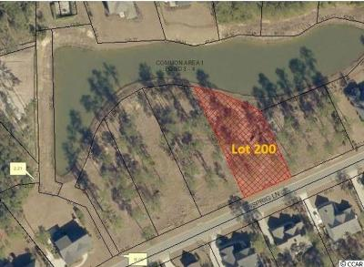 Murrells Inlet Residential Lots & Land For Sale: Lot 200 Sprig Ln.