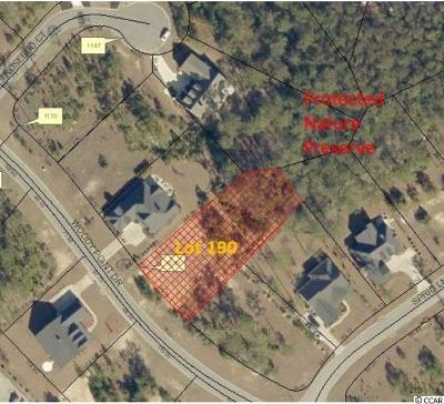 Murrells Inlet Residential Lots & Land For Sale: Lot 190 Woody Point Dr.