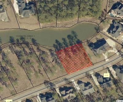 Murrells Inlet Residential Lots & Land For Sale: Lot 201 Sprig Ln.
