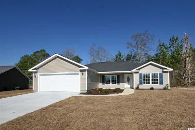 Aynor, Galivants Ferry Single Family Home For Sale: Tbd 4 Costie Allen Rd.