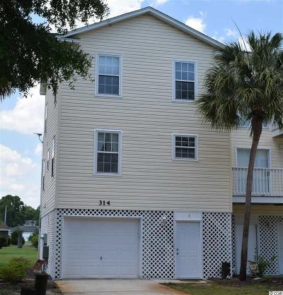 Surfside Beach Condo/Townhouse For Sale: 314 Willow Dr. S #1
