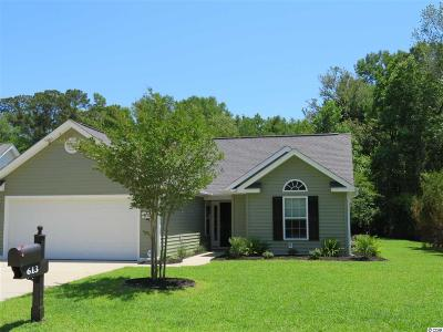 Myrtle Beach Single Family Home For Sale: 613 West Oak Circle Dr.