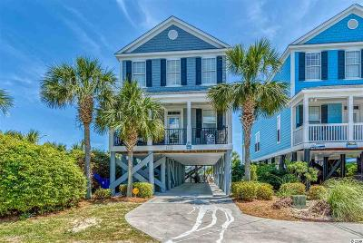 Surfside Beach Single Family Home For Sale: 1517-A North Ocean Blvd.