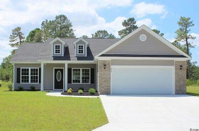 Loris Single Family Home For Sale: Tbb7 Long Meadow Dr.