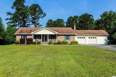 Conway Single Family Home For Sale: 5135 Bottle Branch Rd.