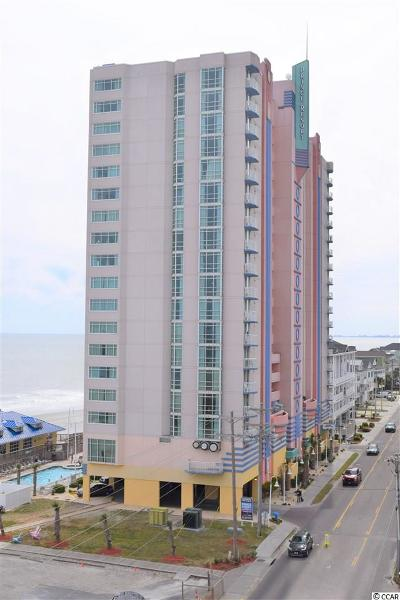 North Myrtle Beach Condo/Townhouse For Sale: 3500 North Ocean Blvd. #402
