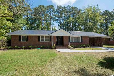 Conway Single Family Home For Sale: 1704 Sherwood Dr.