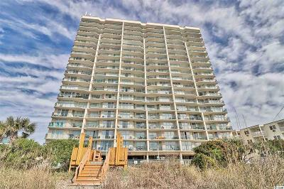 North Myrtle Beach Condo/Townhouse For Sale: 3805 S Ocean Blvd. #1406