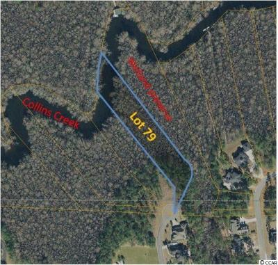 Georgetown County, Horry County Residential Lots & Land For Sale: Lot 79 Woody Point Dr.