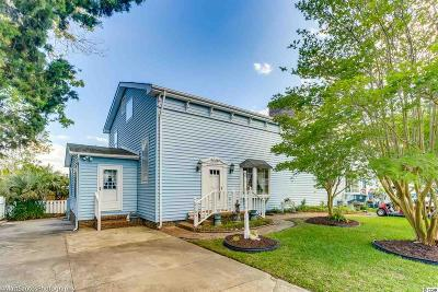 North Myrtle Beach Single Family Home For Sale: 2105 Hillside Dr. S