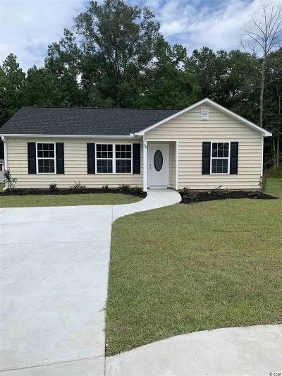 Conway SC Single Family Home For Sale: $154,900