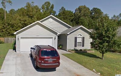 Murrells Inlet Single Family Home Active Under Contract: 9796 Conifer Ln.