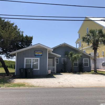 North Myrtle Beach Single Family Home For Sale: 923 South Ocean Blvd.