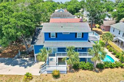 North Myrtle Beach Single Family Home Active Under Contract: 500 20th Ave. N