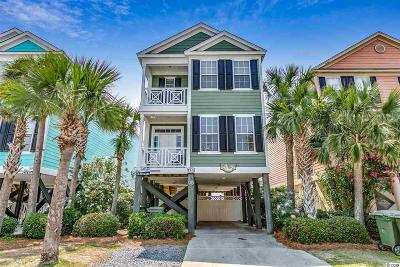 Surfside Beach Single Family Home For Sale: 15a Seaside Dr. N