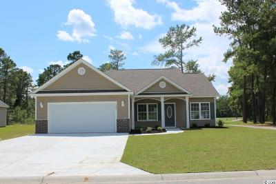 Loris Single Family Home Active Under Contract: 363 Long Meadow Dr.