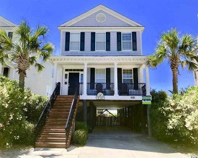 Surfside Beach Single Family Home For Sale: 1211 A N Ocean Blvd.
