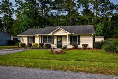 Little River Single Family Home Active Under Contract: 238 Robin Hood Circle