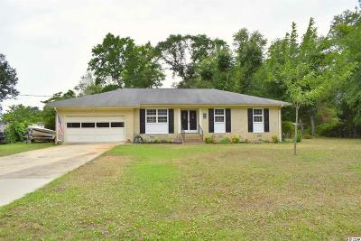 North Myrtle Beach Single Family Home For Sale: 703 N Holloway Circle