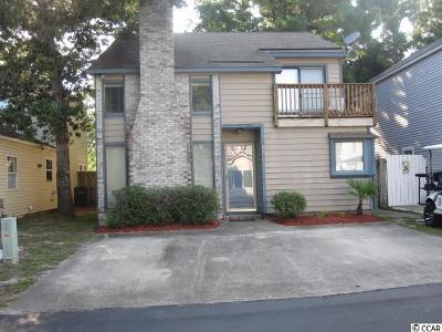 North Myrtle Beach Single Family Home Active Under Contract: 829 9th Ave. S