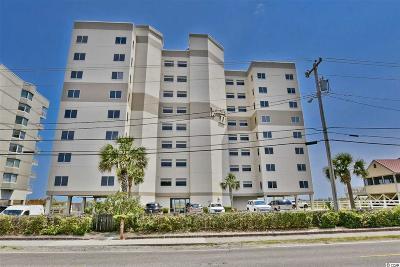 North Myrtle Beach Condo/Townhouse For Sale: 5800 N Ocean Blvd. #102