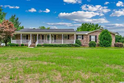 Galivants Ferry Single Family Home For Sale: 515 Floyd Page Rd.