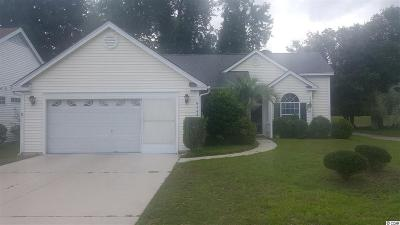 Murrells Inlet Single Family Home Active Under Contract: 9584 Indigo Club Dr.