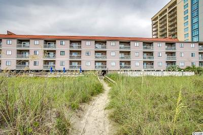 North Myrtle Beach Condo/Townhouse Active Under Contract: 613 S Ocean Blvd. S #J-3