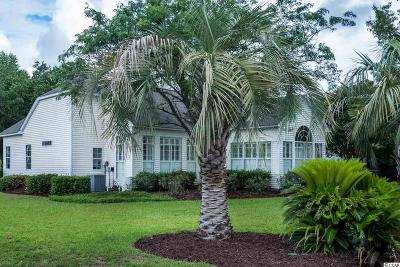 Pawleys Island Single Family Home Active Under Contract: 95 Boatmen Dr.