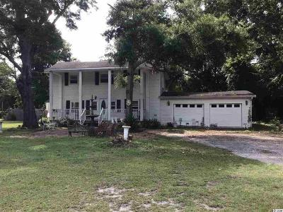 Murrells Inlet Single Family Home For Sale: 5006 Wesley Rd.