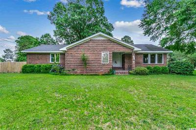 Conway Single Family Home For Sale: 1203 Wake Forest Rd.