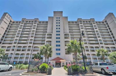North Myrtle Beach Condo/Townhouse For Sale: 4801 Harbour Pointe Dr. #606
