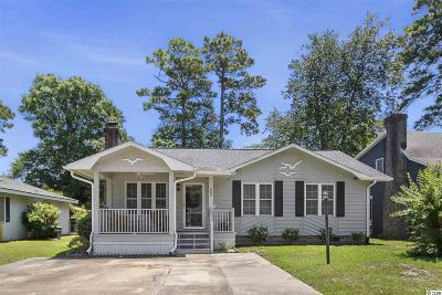 Murrells Inlet Single Family Home For Sale: 308 Stratford Pl.