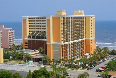 Myrtle Beach Condo/Townhouse For Sale: 6900 N Ocean Blvd. #743