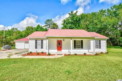 Conway Single Family Home For Sale: 6129 Pee Dee Hwy.