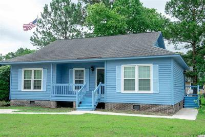 Murrells Inlet Single Family Home For Sale: 9439 Old Palmetto Rd.