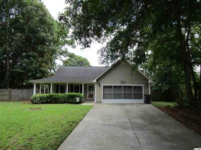 Myrtle Beach Single Family Home For Sale: 314 Trace Run Circle