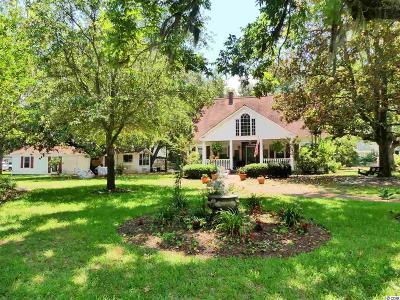 Murrells Inlet, Garden City Beach Single Family Home For Sale: 4400 Murrells Inlet Rd.