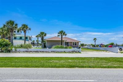 North Myrtle Beach Single Family Home For Sale: 700 N Ocean Blvd.