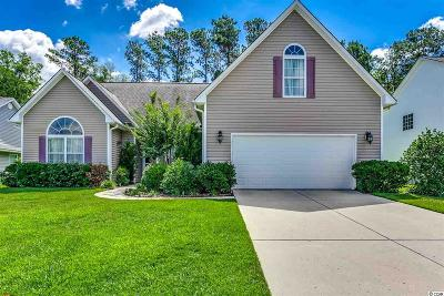 Myrtle Beach Single Family Home Active Under Contract: 182 Sugar Mill Loop