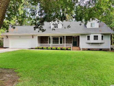 Pawleys Island Single Family Home For Sale: 393 Aspen Loop