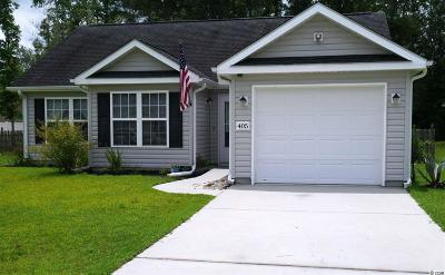 Conway SC Single Family Home For Sale: $172,900