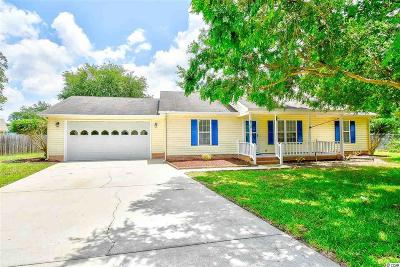 Myrtle Beach Single Family Home For Sale: 810 Berrywood Ct.