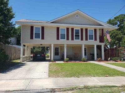 North Myrtle Beach Multi Family Home Active Under Contract: 507 17th Ave. S